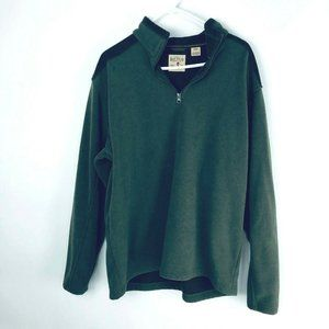Red Head Large Mens Pullover Sweatshirt Corduroy